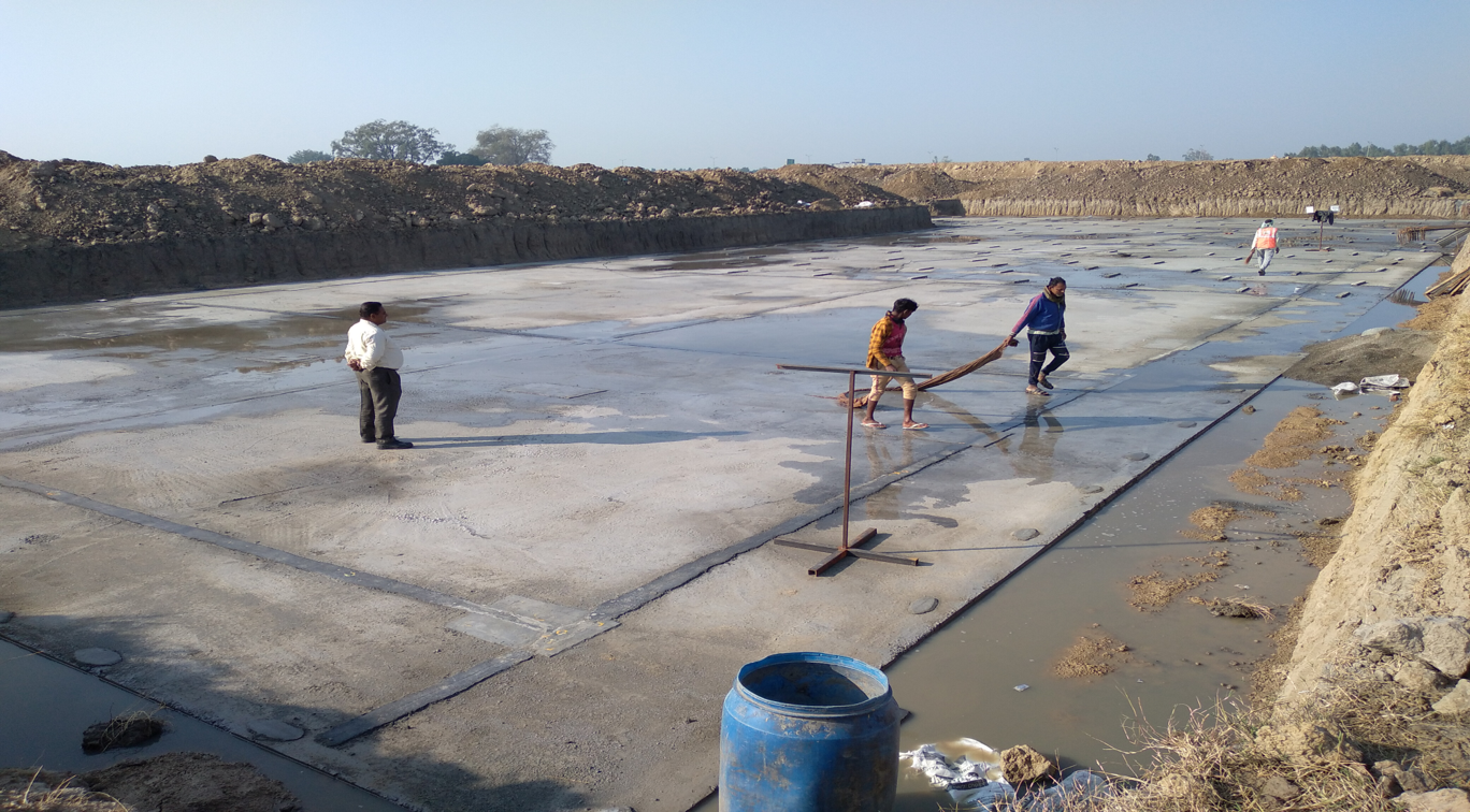 Academic block – 2nd pit layout completed.(17-11-2020)