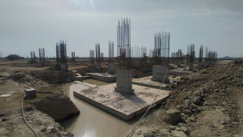 LIBRARY- column casting works in competed 12.04.2021