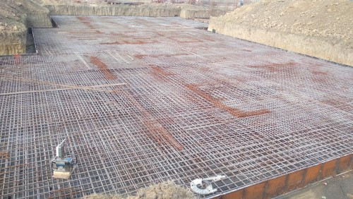 Hostel Block H3 – steel placing & binding second layer in progress 05.01.2021