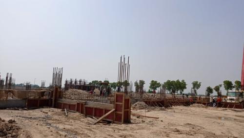 Dinning block –  grade slab works in progress 14.06.2021.png