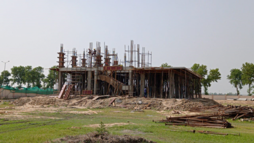 Director's residence – slab casting  work in completed 14.06.2021.png