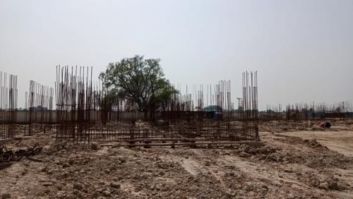 Hostel Block H2 – soil filling work completed 14.06.2021.png