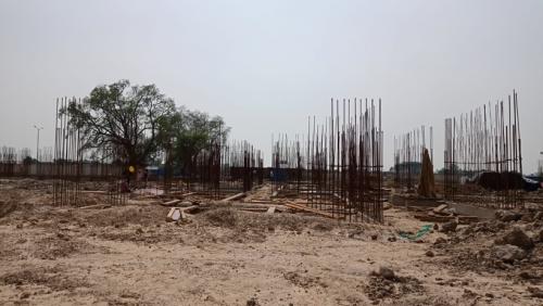 Hostel Block H4 – soil filling work Completed 14.06.2021.png