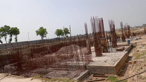 AUDITORIUM - RCC Shear Wall & Column casting work in progress 14.06.2021.png