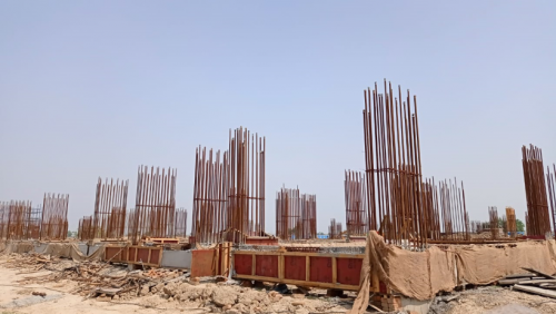 Faculty & Admin block – grade slab works in progress 14.06.2021.png