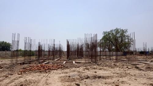 Hostel Block H1 – soil filling work completed 22.06.2021.png