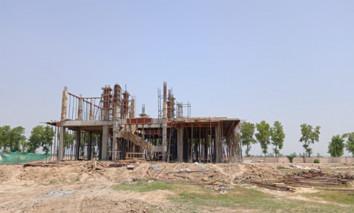Director's residence – slab casting  work in completed 22.06.2021.png