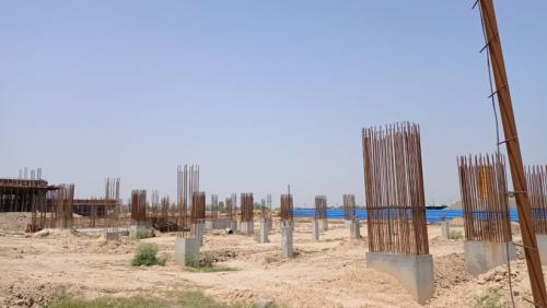 SPORTS COMPLEX –  grade slab steel work in progress 22.06.2021.png