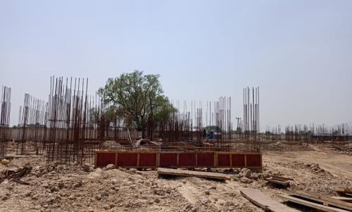 Hostel Block H3 – soil filling work Completed 22.06.2021.png