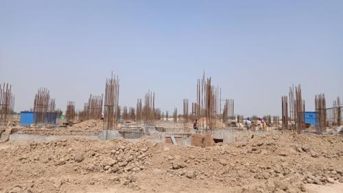 Academic block – 2nd pit grade slab works in progress 22.06.2021.png