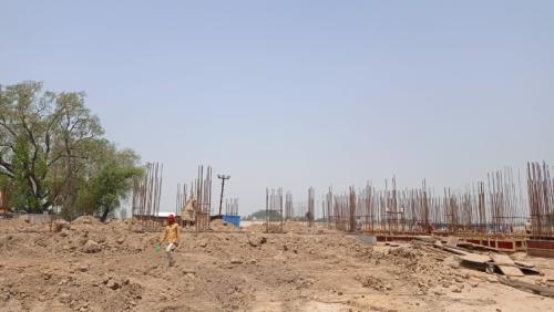 Hostel Block H4 – soil filling work Completed 29.06.2021.png