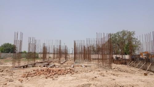 Hostel Block H1 – soil filling work completed 29.06.2021.png