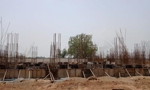 Hostel Block H2 – soil filling work completed plinth beam casting work in progress  05.07.2021.jpg
