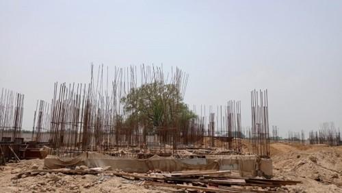 Hostel Block H3 – plinth beam casting work Completed 05.07.2021.jpg