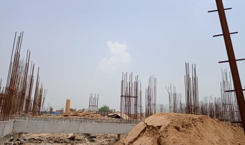 Hostel Block H4 – soil filling work Completed 05.07.2021.jpg
