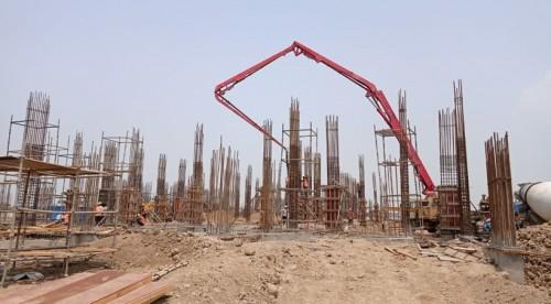 Academic block – 2nd pit grade slab works in progress column casting work in progress 05.07.2021.jpg