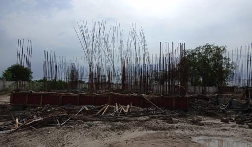 Hostel Block H1 – soil filling work completed 13.07.2021.png