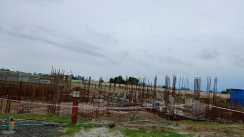 AUDITORIUM - RCC Shear Wall & Column casting work in progress 13.07.2021.png