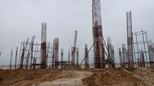 COMMUNITY CENTER – grade slab beam casting work in progress 20.07.2021.png