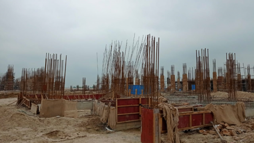 INCUBATION – soil filling work in completed plinth beam casting work completed 20.07.2021.png