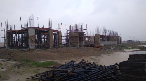 Professor's residence – grade slab column casting work in progress 26.07.2021.jpg