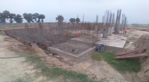AUDITORIUM - RCC Shear Wall & Column casting work in progress 26.07.2021.jpg