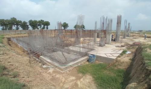 AUDITORIUM - RCC Shear Wall & Column casting work in progress 02.08.2021.jpg