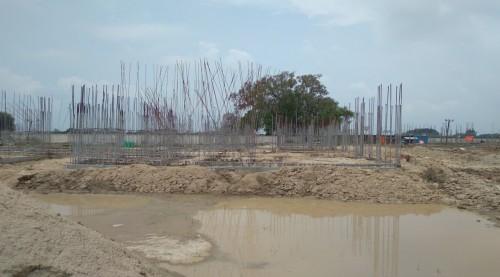 Hostel Block H3 – plinth beam casting work Completed 02.08.2021.jpg