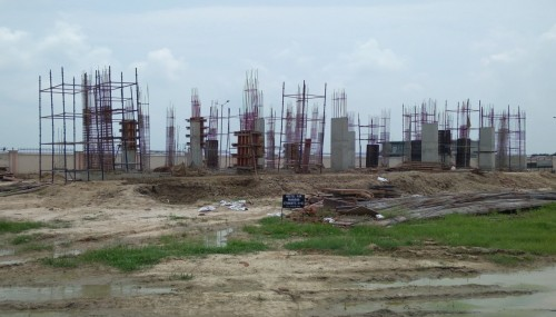 Hostel for Married Students –  grade slab work in progress column casting work in progress  02.08.2021.jpg