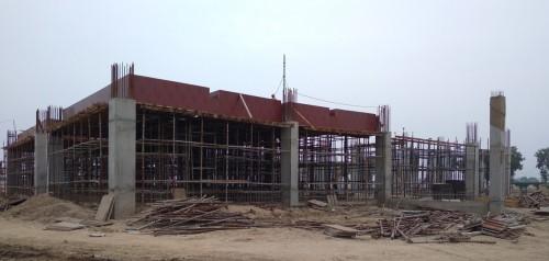 Dinning block –  Column casting  works in progress slab shuttering work in progress  09.08.2021.jpg