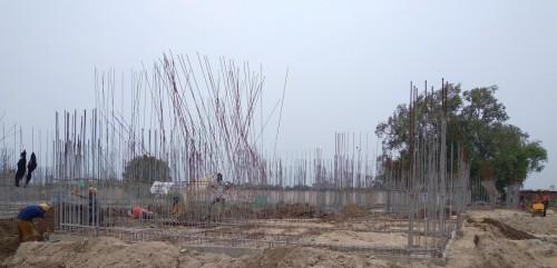 Hostel Block H3 – plinth beam casting work Completed 09.08.2021.jpg