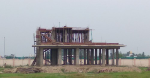 Director's residence – slab casting  work in completed 1st floor column casting work in progress 09.08.2021.jpg