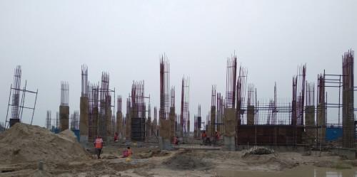 Academic block – 1st pit column casting  work in progress 09.08.2021.jpg