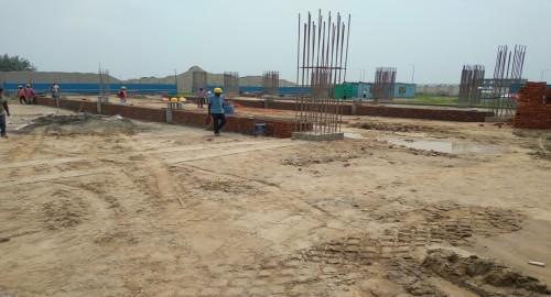 SPORTS COMPLEX –  grade slab steel work in progress 09.08.2021.jpg