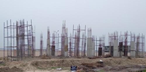 Hostel for Married Students –  grade slab work in progress column casting work in progress  09.08.2021.jpg