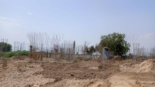 Hostel Block H1 – soil filling work completed 16.08.2021.png