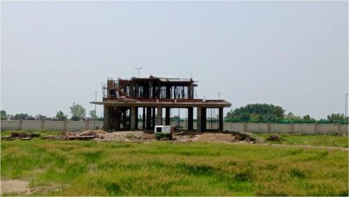 Director's residence – slab casting  work in completed 1st floor column casting work in progress 16.08.2021.jpg