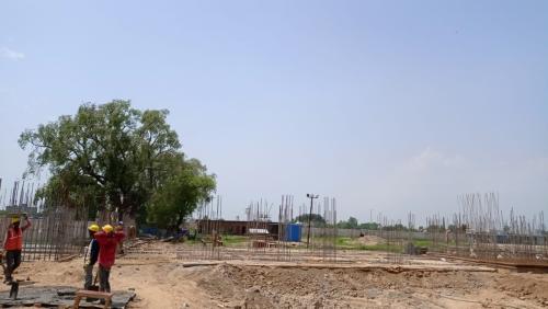 Hostel Block H4 – soil filling work Completed 16.08.2021.png