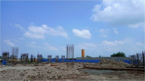 SPORTS COMPLEX –  grade slab steel work in progress 23.08.2021.jpg