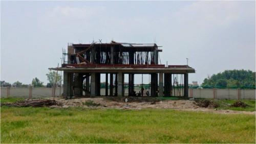 Director's residence – slab casting  work in completed 1st floor column casting work in progress 23.08.2021.jpg