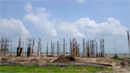 Hostel for Married Students – grade slab work in progress column casting work in progress  23.08.2021.jpg