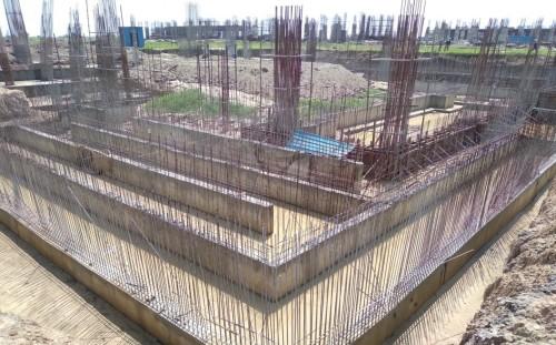 AUDITORIUM - RCC Shear Wall & Column casting work in progress 09.09.2021.jpg