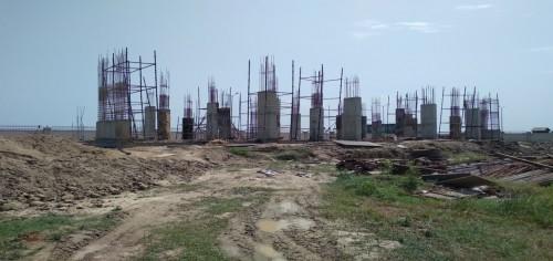Hostel for Married Students –  grade slab work in progress column casting work completed  09.09.2021.jpg