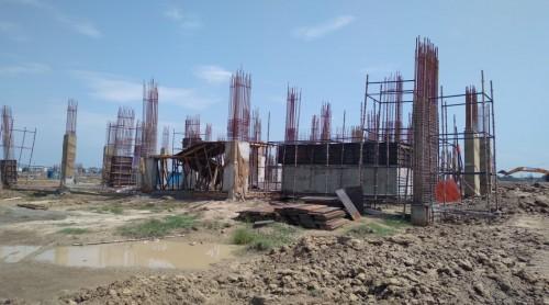 Academic block – 1st pit column casting  work in progress 09.09.2021.jpg