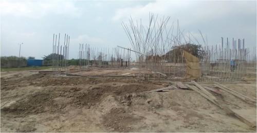 Hostel Block H1 – grade slab casting work completed  20.09.2021.jpg