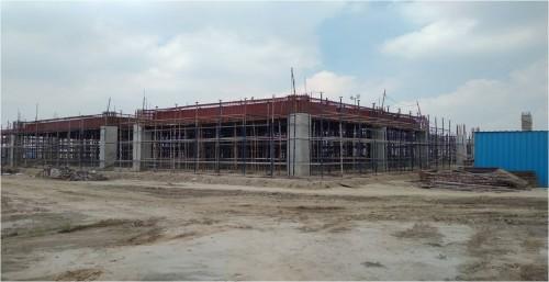 Dinning block –  Column casting  works completed  slab shuttering work in progress  20.09.2021.jpg