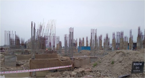 INCUBATION – soil filling work in progress plinth beam casting work in progress 20.09.2021.jpg