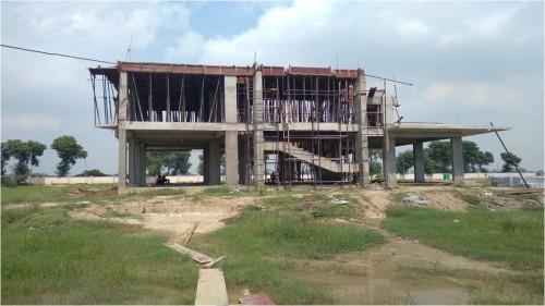 Director's residence – 1st floor slab shuttering  work completed steel work in progress  20.09.2021.jpg