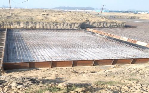 Hostel Block H6 – Steel placing & binding work – second layer work in progress (21-12-2020)