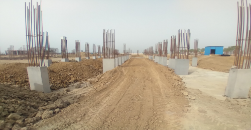 Academic block – 2nd pit column casting work in completed 15.03.2021